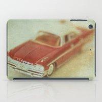 Vintage Red De Soto  iPad Case