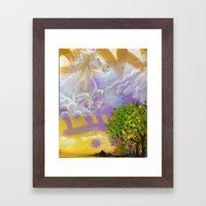 Sky Horse Framed Art Print