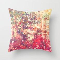 Street of London1 Throw Pillow