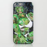 iPhone & iPod Case featuring SHE HULK by JANUARY FROST