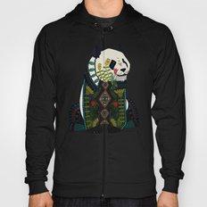 panda silver Hoody