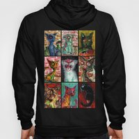 9 Zombie Cats Version 2 Hoody