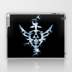 Water Triforce Laptop & iPad Skin