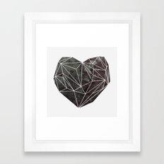 Heart Graphic 4 Framed Art Print