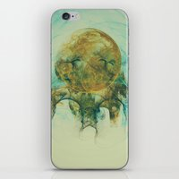 Moon Talking Nebula  iPhone & iPod Skin