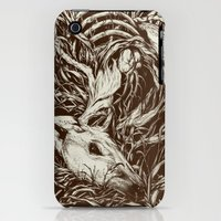 iPhone 3Gs & iPhone 3G Cases featuring doe-eyed by Teagan White