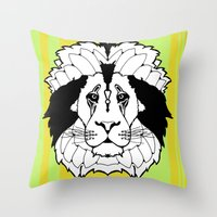 The Mane Attraction Throw Pillow