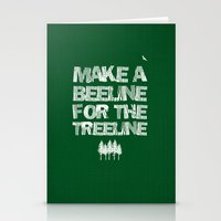 Make A Beeline For The T… Stationery Cards