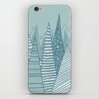 Snowy Mountains iPhone & iPod Skin