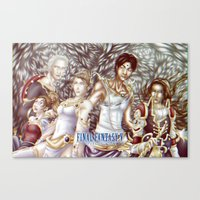 Final Fantasy V Canvas Print