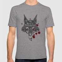 The North Remembers - Ga… Mens Fitted Tee Athletic Grey SMALL