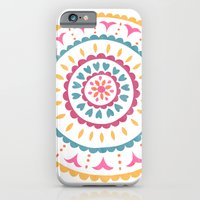 Suzani inspired floral 2 iPhone 6 Slim Case