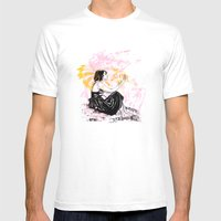Departure Mens Fitted Tee White SMALL