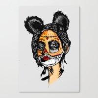 Wonderdamx Canvas Print