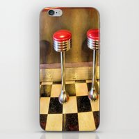 Olde Time Stools iPhone & iPod Skin