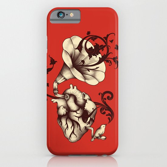 Listen to Your Heart iPhone & iPod Case