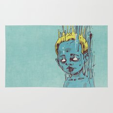 The Blue Boy with Golden Hair Rug