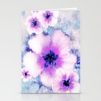 Rose of Sharon Bloom Stationery Cards