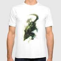 Spirit Of The Wolf Mens Fitted Tee White SMALL