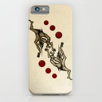 iPhone & iPod Case featuring Jugglers by The Being art
