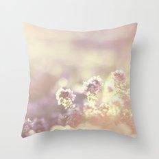 In a blur Throw Pillow