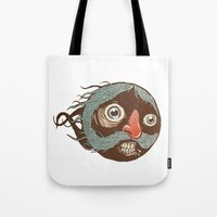 SuperMustacheMan Tote Bag