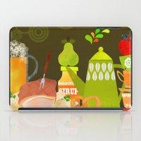 Autumn food iPad Case