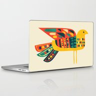 Century Bird Laptop & iPad Skin