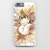 forest iPhone & iPod Cases featuring Slumber by Freeminds