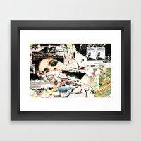 Collide 1 Framed Art Print