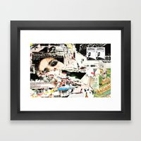 Collide 1 Framed Art Print