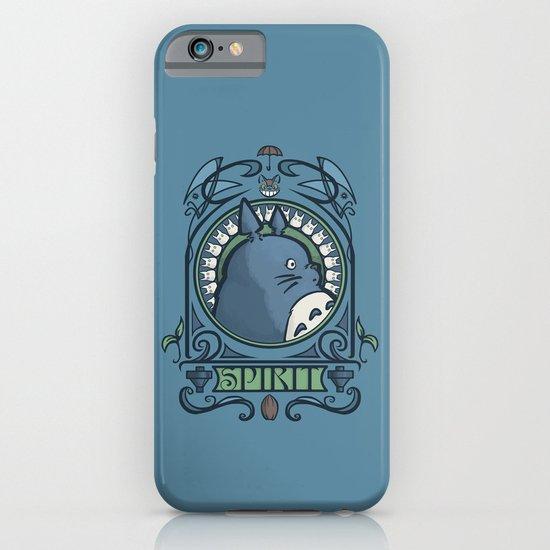 Forest Spirit Nouveau iPhone & iPod Case