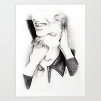 DECONSTRUCTION OF DAVID … Art Print