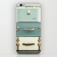 Journey In Blue iPhone & iPod Skin