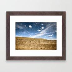 Prairie Framed Art Print