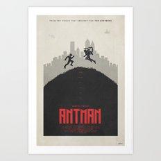 Become The Hero - Ant-Ma… Art Print