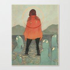 Spirits of the Lake Canvas Print