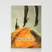 Return Often And Take Me Stationery Cards