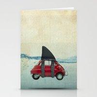 Isetta Shark Stationery Cards