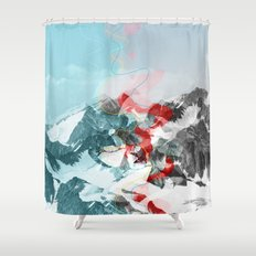 another abstract dream 2 Shower Curtain
