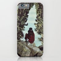 iPhone Cases featuring RELENTLESS CORRIDORS by Beth Hoeckel Collage & Design