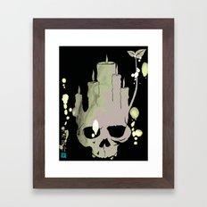 Death is Reborn/Reborn is Death Framed Art Print