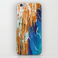 iPhone & iPod Skin featuring Quadra by ronnie mcneil