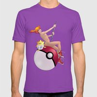 Misty on a Wrecking Ball Mens Fitted Tee Ultraviolet SMALL