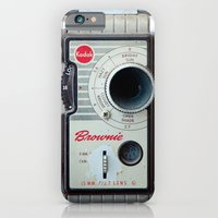 iPhone & iPod Case featuring Brownie 8mm Movie Camera by Typography Photography™