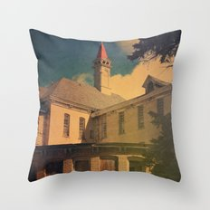 The Asylum Throw Pillow