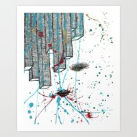 Right Side Up Art Print