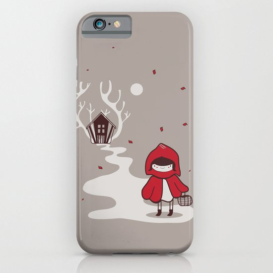Little red iPhone & iPod Case