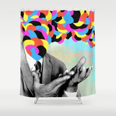 Inside the Realm Shower Curtain