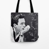 Johnny Cash Tote Bag